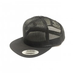 Кепка FlexFit Trucker All Mesh Black