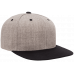 Кепка FlexFit 6089MT - Classic Snapback Heather/Black
