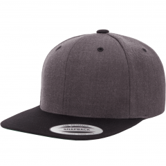 Кепка FlexFit 6089MT - Classic Snapback Dark Heather/Black
