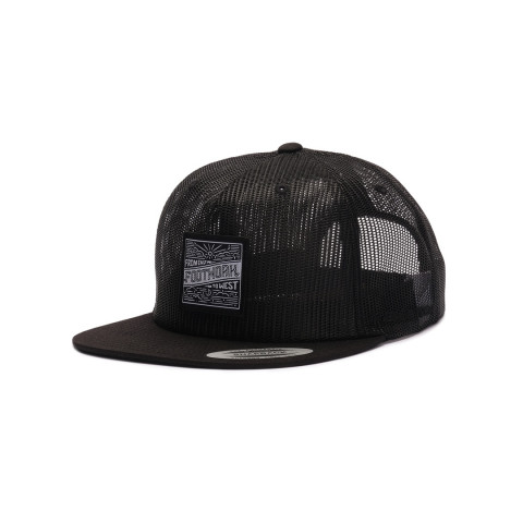 Кепка Footwork East Square All Mesh Black