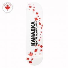 Дека Mental Skateboards Kanadka White