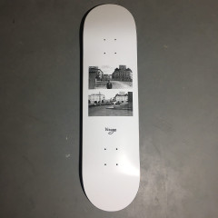 Дека Virage skateboards NAIL white
