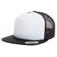 Кепка FlexFit 6005FW Trucker Black/White/Black