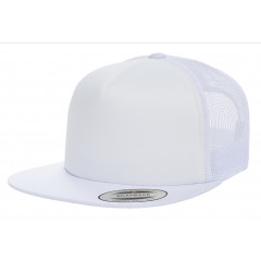 Кепка FlexFit Trucker White
