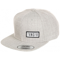 Кепка TRANSFER Classic Snapback Heather Grey